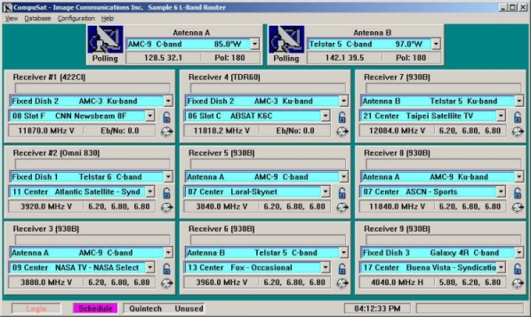 CompuSat Router Management System